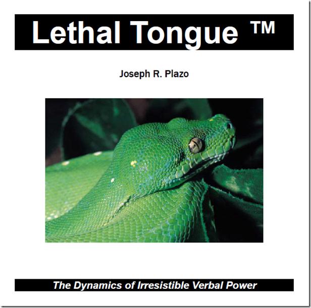 Joseph Plazo - Lethal Tongue